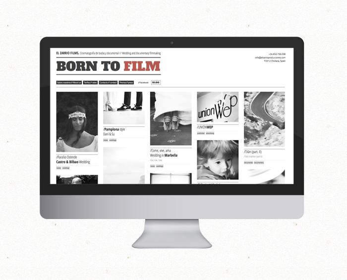 born to film